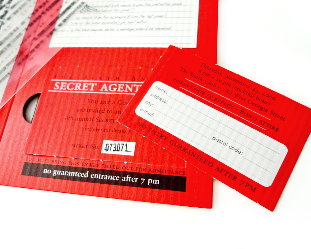 Secret Agent Ball Party Invitation | Chris Young Design, Art ...